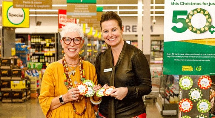 Woolworths OzHarvest Christmas Appeal to help feed Aussies in need