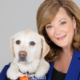 Karen Hayes with dog