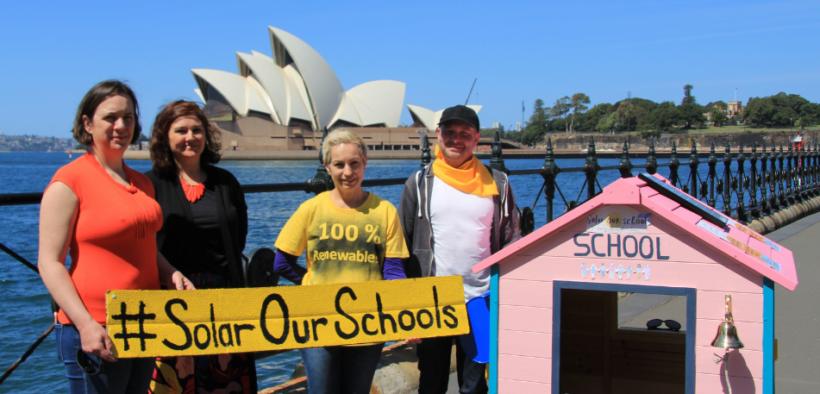 Solar Our Schools initiative