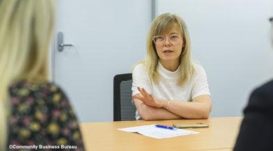 Jane Arnott hopes to encourage resilience with CBB's programs
