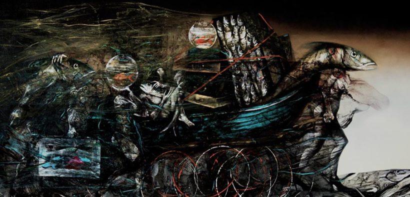 art exhibition Migration 2016 by Hedar Abadi