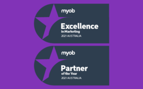 xsys has been named the2021 MYOB Enterprise Partner of the Yearfor thethirdconsecutive year