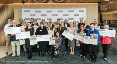 newcastle foundation opening funding grants