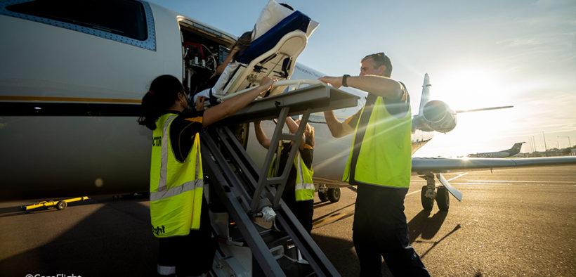 Careflight's aeromedical jet
