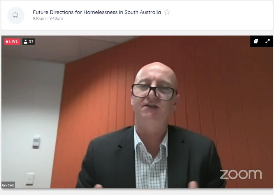Ian Cox of SA Housing Authority