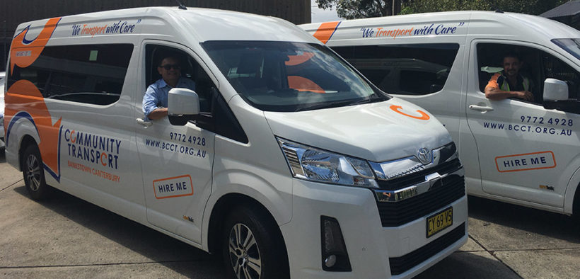 Two new Toyota vehicles for Canterbury Bankstown