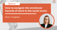 Alison Coughland on mental health in social sector