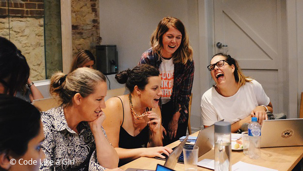 Code Like a Girl provides economic opportunities for women
