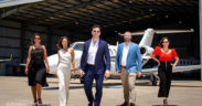 Brisbane CEOs dance against domestic violence