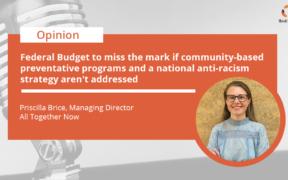 Priscilla Brice's take on the Federal Budget