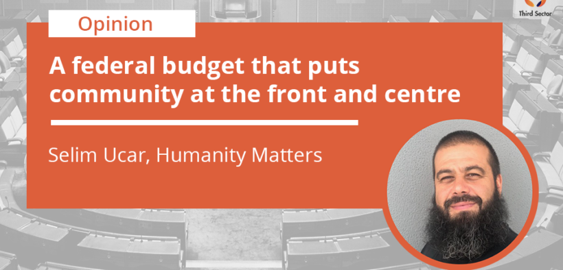 Banner photo of Selim Ucar's piece about the federal budget