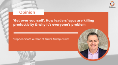 Stephen Scott on Leaders and their egos