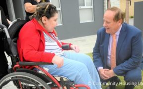 purpose-built homes for disabled people