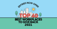 workplaces to give back